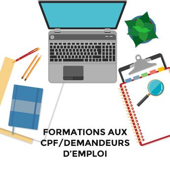 Formations CPF/demandeurs d'emploi - Ecolingua